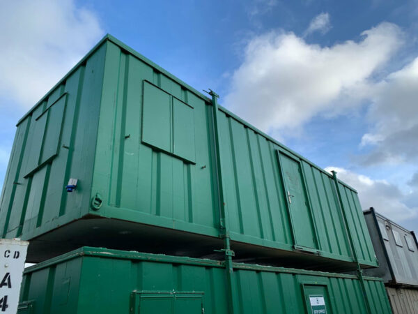 standard shipping container windows
