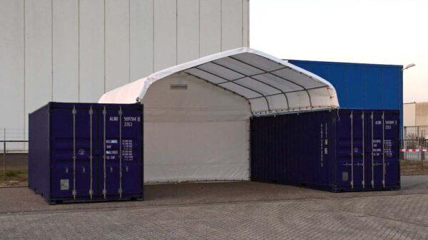 storage container canopies uk