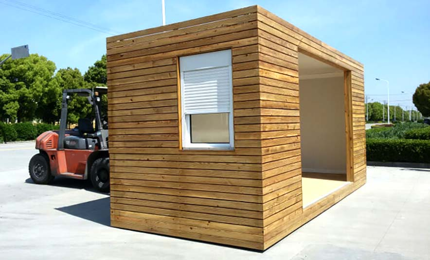 timber cladding for shipping container conversion uk