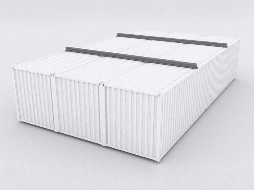 triple container workshop conversion for sale