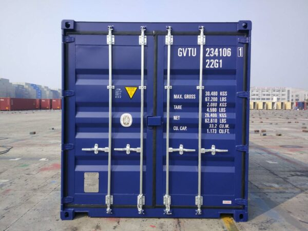 used 20ft high cube shipping container